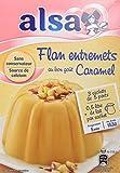 Alsa Préparation Flan Entremets Crème dessert Caramel 3 Sachets 180g - Lot de 3