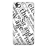 INKIF Sit and Wait Designer Case Printed Mobile Back Cover for One plus X /Oneplus x (Black )