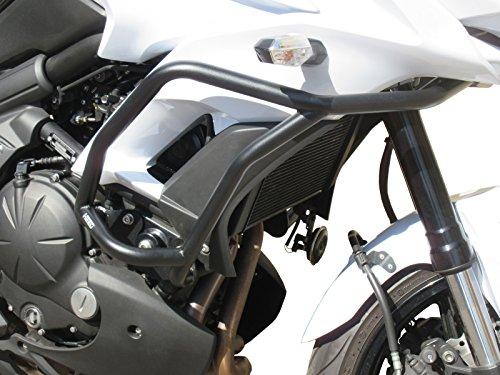 Keenso r/éservoir de gaz c/ôt/é avec autocollant Fishbone pour Kawasaki Versys 650 KLE 650 10-17 Keenso Autocollant antid/érapant pour r/éservoir de carburant