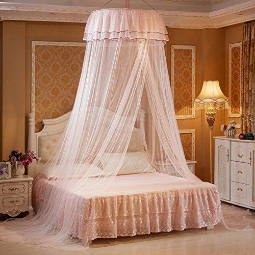 TININNA Romantico Zanzariera a baldacchino per letto Zanzariera per ...