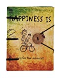 #10: Craft Play B_044 Special Binding Happiness Is Diary (17 cm x 12 cm x 2.5 cm)