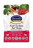 Stewart 402861Raw Naturals congelare carne secca Dog Food in sacchetto richiudibile, 680,4gram di Stewart