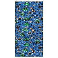 LimeWorks Children Bath Towel, 70x140 cm, Dinosaurs