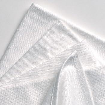 TowelsRus Geschirrtücher, 100 % Baumwolle, Weiß, 6 Stück
