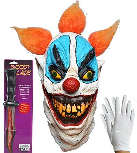 - Böse Clown Handschuhe