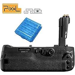 Pixel BG-E20 Poignée d'alimentation Grip de Batterie Multifonction pour Canon EOS 5D Mark IV Caméra, Remplacement pour Canon BG-E20
