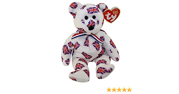JACK  FLAG NOSE ***TY BEANIE BABY*** Style 40071