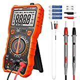 Digital Multimeter Messgerät,LOMVUM T28C 6000 Counts Manual Range Multimeter True RMS