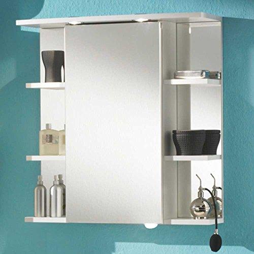 #Bad-Spiegelschrank Rom in Weiß Pharao24#