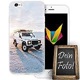 Mobilefox Eigenes Auto Handyhülle Personalisiertes Geschenk dünne Silikon TPU Case Foto Motiv für Apple iPhone 6/6S O