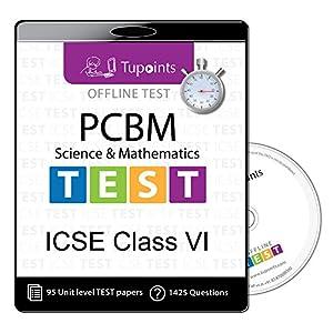ICSE Class 6 Test – Combo Pack PCBM(Physics,Chemistry,Biology,Maths) offline practice Test Mock Test (chapter wise…