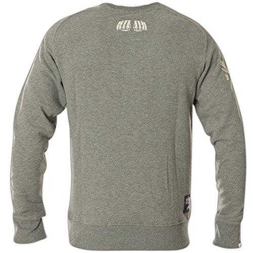 Yakuza Premium Sweatshirt YPP-2327 Hellgrau Grau