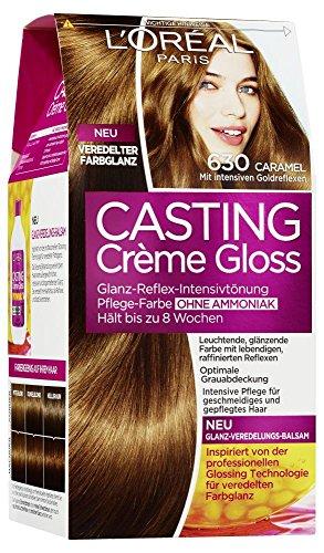L\'Oréal Paris Casting Crème Gloss Glanz-Reflex-Intensivtönung 630 in Caramel
