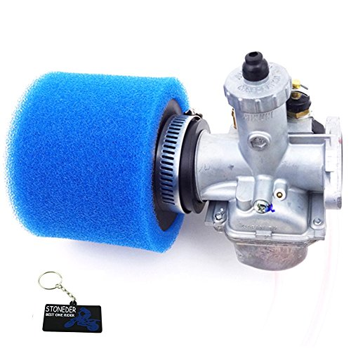 ni Vergaser + 38mm Schaumstoff-Luftfilter für 110cc 125cc 140cc CRF50SSR Pit Dirt Bike ()