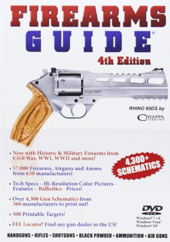 Firearms Guide: 4,300+ Schematics