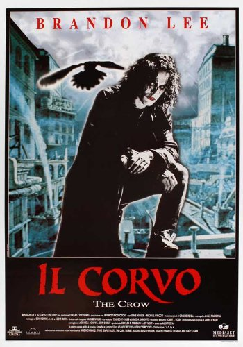 The Crow Plakat Movie Poster (27 x 40 Inches - 69cm x 102cm) (1994) Italian