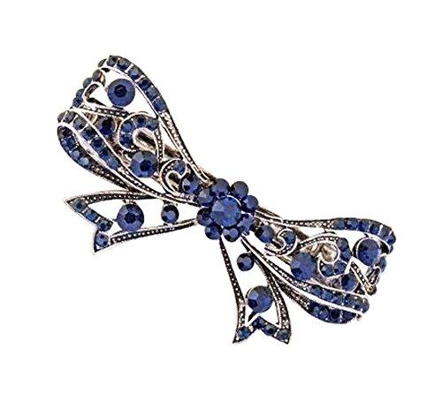 Lot de 2 Clips Attractive Décorations Accessoires cheveux Bow papillon Cheveux
