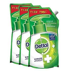 Dettol ABCDE177 Original Liquid Soap Refill - 750 ml (Pack of 3)