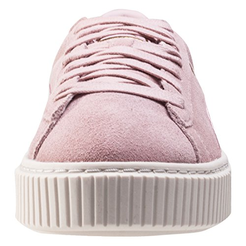 Puma Suede Platform Satin Donna Formatori Blush Pink