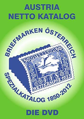 ANK DVD-Spezialkatalog Briefmarken Österreich 2012: Alle Briefmarken ab 1850 bis Ende 2012 auf DVD. Kompatibel mit allen Windows Betriebssystemen.