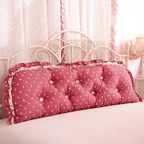 uus Big Bedhead Kissen Soft & Bequeme Rückenlehne Schöne Home Decoration Square Pattern Wasit Care Muti-nützliche Kissen 200 * 53cm ( Farbe : T )