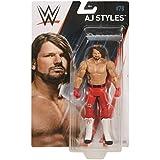 WWE Basic Series 78 Mattel Wrestling Action Figure - AJ Styles Red Attire Costume - The Phenomenal One