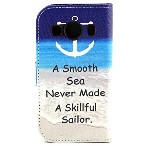 iPhone 6 4.7 Custodia pelle, iPhone 6S Flip Cover Magnetica, Felfy Rosa Smile Design Portafoglio Flip Folio PU Leather Chiusura Magnetica Cuoio Wallet Libro Custodia Caso Copertura Protettiva Support Ancore
