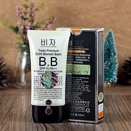 Women BB Cream Liquid Face Makeup Whitening Long-lasting Concealer Nutritious Korean CC Cream 27010