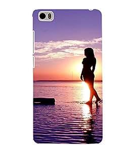 EPICCASE Walk on the beach Mobile Back Case Cover For Xiaomi Mi5 (Designer Case)