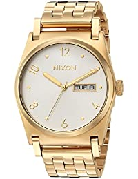 Nixon Women's 'Jane' Quartz Stainless Steel Casual Watch, Color:Gold-Toned (Model: A954504-00)