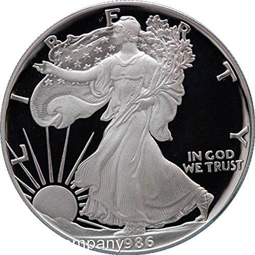 1986American Eagle Silbermünze -