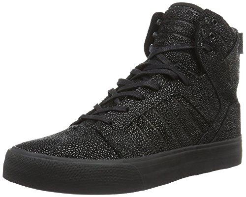 Supra Skytop Hf, Baskets Basses Homme Noir - Schwarz (BLACK HARMONIC 075)