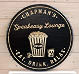 Best Personalized Gifts Friends Bibles - LenRag05 Theatre Room Sign Man Cave Personalized Signs Review
