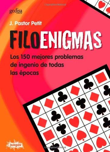 Filoenigmas (Juegos (gedisa)) por Jordi Pastor Petit