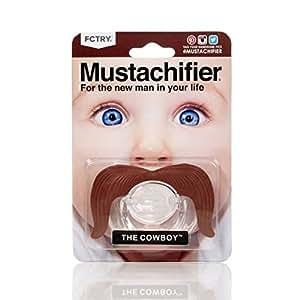 Stachifier - The Cowboy Mustache Pacifier