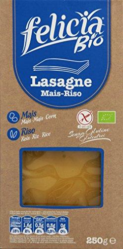 Felicia Bio Lasagne Platten, glutenfrei, 3er Pack (3 x 250 g)