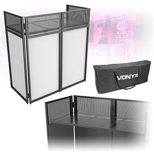 Vonyx Foldable Mobile DJ Booth D...