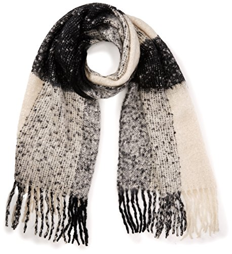 PIECES Damen Schal PCJOO Long Scarf, Mehrfarbig (Black), One Size