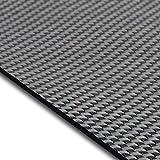 Design Bodenschutzmatte Lucca in 6 Größen | dekorative Unterlegmatte für Bürostühle oder Sportgeräte (100 x 180 cm)