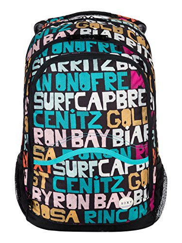 roxy-damen-daypack-charger-j-backpack-typo-is-everywhere-combo-black-10-x-45-x-65-23-liter-erjbp0306