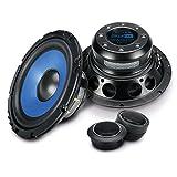 Sinustec 2 Wege Komponenten Lautsprecherboxen rund in 16 cm Einbaugröße für Pkw