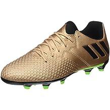adidas Messi 16.3 FG J - Botas de fútbol Línea Messipara niños, Bronce - (