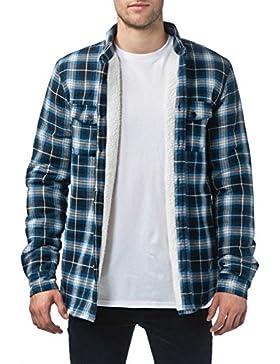 Camisa de manga larga Globe Camden II - Sherpa Lined Azuloscuro Azul