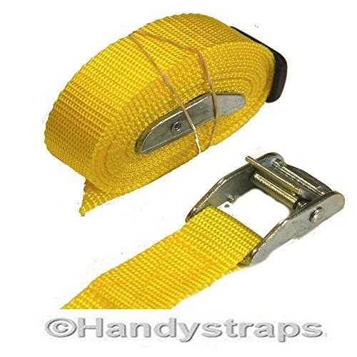2-x-25mm-25-meter-med-luggage-trailer-tie-down-cam-buckles-car-roof-rack-straps-yellow