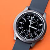 Barton Watch Bands Silikon Schnellverschluß.- Wählen Sie Farbe & Breite (16mm, 18mm, 20mm or 22mm) Ruß Grau 22mm Uhren Armband