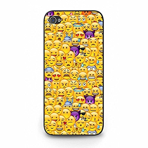 Emoji Iphone 5/5s Case Fashionable Mint Emoji Phone Case Cover for Iphone 5/5s Emoticons Cute Color131d