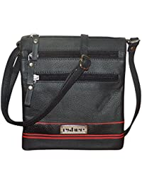Style98 100% Genuine Leather Unisex Crossbody Sling Bag - B01N7N7L2C