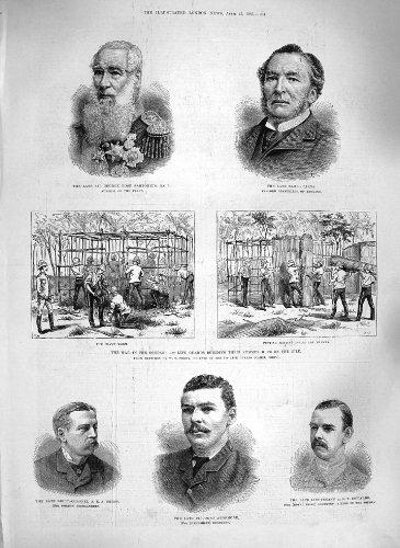 1885-cairn-del-sartorius-del-sudan-di-guerra-di-edwards-dellincrocio-di-avonmore