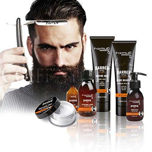 BARBER - Lot de 6 PRODUITS de RASAGE TRADITIONNEL
