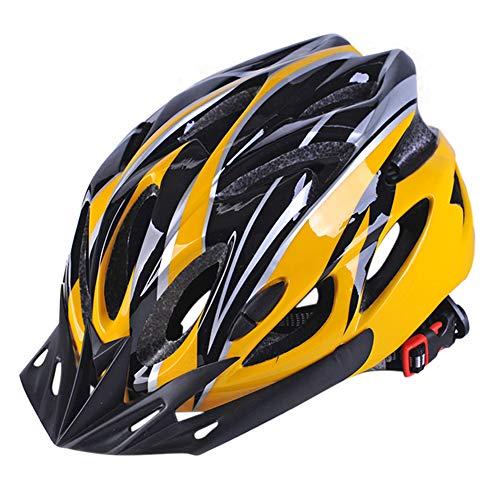 Hzb821zhup Casco de Seguridad para Bicicleta de Carretera Ultraligero para Exteriores